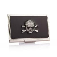 创意骷髅头名片盒送男友老公生日礼物