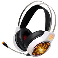 A9电脑游戏耳机头戴式网吧电竞耳麦重低音带麦克风话筒台式 官方标配