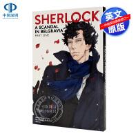 英文原版 神探夏洛克系列4 Sherlock A Scandal in Belgravia Part One 4 贝尔戈