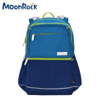 MoonRock梦乐 9007-02学生护脊减负双肩包靛�{单个销售