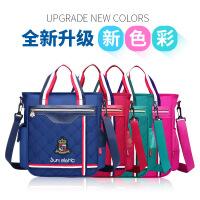 新款韩版小学生书包男女童1-3-4-6年级轻奢时尚贵族英伦风补习包袋手提袋儿童斜挎包单肩书包可提可背