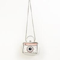 包包新款相机包小方包 可爱软妹 斜挎包宽肩带小包口金包