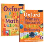 (100减20)牛津初级插图 英文词典 数学插画词典 Oxford First/Primary Illustrated