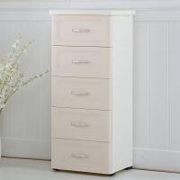 加厚�W式�ξ锕癯�鲜绞占{柜塑料柜子�和�����衣柜整理柜5��