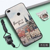 小米max2手机壳女款保护套硅胶挂绳全包边个性创意指环防摔