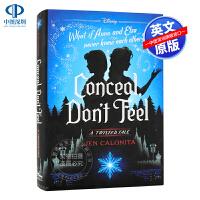 现货英文原版 冰雪奇缘 被隐藏的双子Frozen: Conceal, Don't Feel: A Twisted Tal