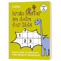 柯林斯儿童数独游戏书 英文原版 Collins Brain Buster Su Doku for Kids 数独益智游