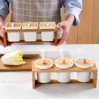 陶瓷调味罐套装家用欧式调料盒厨房用品佐料盐罐调料罐糖罐调味盒