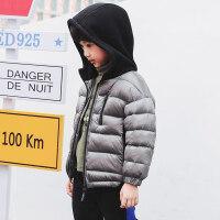男童棉衣外套儿童秋冬夹棉棉衣2018新款中大童冬装保暖童装潮
