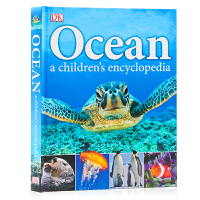 DK 海洋儿童百科全书 Ocean A Children's Encyclopedia 英文原版 海洋生物启蒙认知 全彩