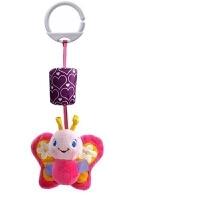 新生儿风铃 婴儿推车挂件 卡通动物床铃挂饰宝宝摇铃毛绒布艺玩具