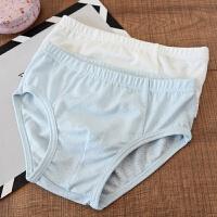 两件装 儿童莫代尔内裤 男童女童 三角裤平角裤 中大童春夏款
