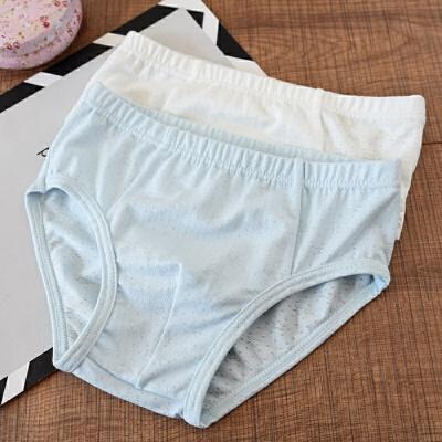 两件装 儿童莫代尔内裤 男童女童 三角裤平角裤 中大童春夏款 发货周期:一般在付款后2-90天左右发货,具体发货时间请以与客服协商的时间为准