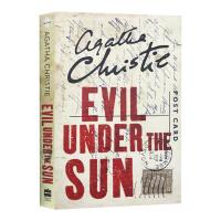阳光下的罪恶英文原版小说 Evil Under the Sun 阿加莎克里斯蒂英文侦探小说 东方快车谋杀案作者 进口英