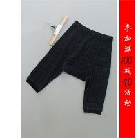 [6-102]羊毛新款女裤休闲七分裤子0.32