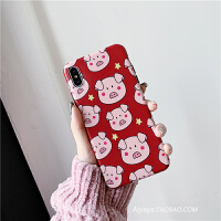 猪事顺利猪8plus苹果x手机壳XS Max/XR/iPhoneX/7p/6女iphone6s套新年