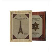相册 艾尚美 工艺相册 全6寸200张中间带记事条 9251-2铁塔航海系列