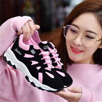 2018秋冬季新款运动鞋女韩版学生ulzzang原宿百搭休闲女鞋跑步鞋