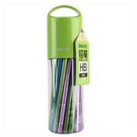 得力S946六角杆36支/筒彩色笔杆铅笔学生用品考试绘图用笔