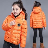女童加厚棉衣外套儿童中长款冬季棉袄女大童韩版保暖宝宝短款
