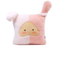 玩具公仔星座暖手抱枕  毛绒玩具靠垫  女生生日礼物抱枕被子两用