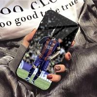一加7/七/1+7玻璃手机壳NBA潮牌梅西-10号足球巴萨个性简约创意