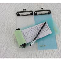 华杰写字板 H111B强力板夹加厚PP塑料A6票据板夹