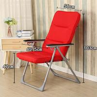 办公室午休靠椅孕妇睡椅懒人沙发椅家用电脑椅子可折叠躺椅布椅子