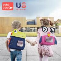 babycare宝宝入园书包婴男女儿童防走失背包可爱 幼儿园小书包3岁