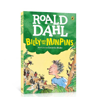 【全店300减100】英文原版 逃家男孩Billy and the Minpins比利与敏平 Roald Dahl 罗尔