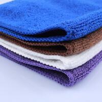 吸水巾白色小毛巾方巾抹布吧台咖啡机清洁布清洗布厨房洗碗巾奶茶Cn