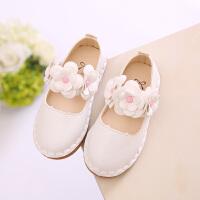 2018秋季新款韩版女童小皮鞋公主鞋软底宝宝鞋儿童单鞋防滑豆豆鞋