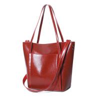 0605172312386新款潮酷时尚女包女包包大容量手提包少女百搭休闲单肩包外出旅游斜跨妈咪包 红色