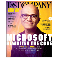 进口原版年刊订阅 Fast Company快公司(US) 商业资讯杂志 美国英文原版 年订10期