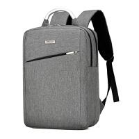 惠普苹果笔记本电脑包双肩包15.6寸14寸商务休闲男女笔记本背包