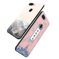 oppor15手机壳 OPPO R15保护套 oppo r15 标准版 梦境版 手机保护壳 个性创意中国风软硅胶全包防
