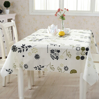 pvc桌布防水防�C防油免洗透明桌�|茶��|�玻璃餐桌布塑料�_布 135*240 cm