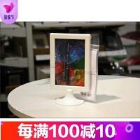 6寸双面画相框 亚克力摆台相架桌牌台牌台卡二维码展示牌餐牌 6寸
