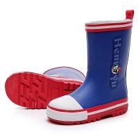 可爱儿童雨鞋耐磨防滑 学生大童胶鞋雨靴小孩子水鞋男童 女童四季