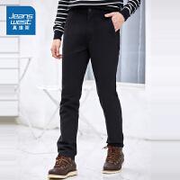 [超级大牌日每满299-150]真维斯休闲裤男 冬装男装青年纯棉长裤冬季裤子
