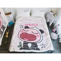 卡通毛毯双层加厚保暖冬季婴儿毯小孩子童毯宝宝珊瑚绒毯子