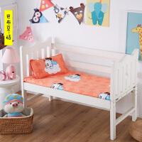 幼儿园儿童小被套垫被褥子床垫套60x120/135/70 80x150被子被芯套 白色 巴布豆-桔