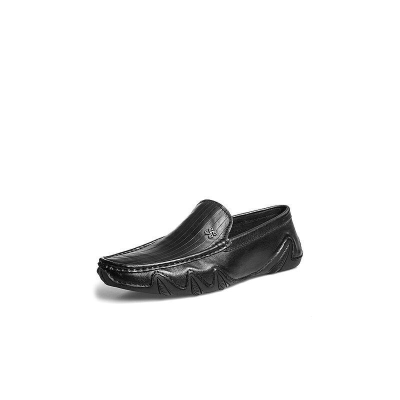 Belle/百丽2018夏新品专柜同款牛皮男休闲鞋5RN11BM8