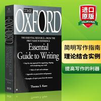 牛津英语写作指南 英文原版 写作工具书 The Oxford Essential Guide to Writing 英