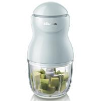 小熊(Bear)切碎机 宝宝辅食机婴儿料理机家用搅拌机 营养食物调理机研磨器0.3L升份量 浅蓝色 QSJ-A01F2