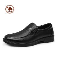 骆驼牌男鞋秋冬新款男士皮鞋男韩版真皮鞋子英伦商务正装皮鞋子