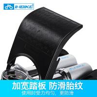 脚踏打气筒高压便携式家用自行车电动车汽车充气泵带表