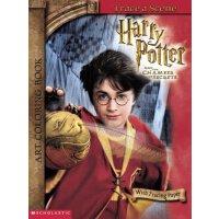 英文原版 Harry Potter Art Coloring Book: Trace a Scene