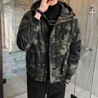 羽绒马甲男冬季冬装迷彩男外套