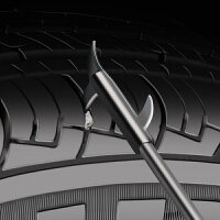 汽车轮胎清石钩车胎钩清洁刮石器维修保养挑石子清理勾防补胎枪不锈钢剔牙刀挑石器汽车用品